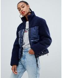 Doudoune bleu marine Tommy Jeans