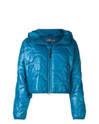 Doudoune bleue adidas by Stella McCartney