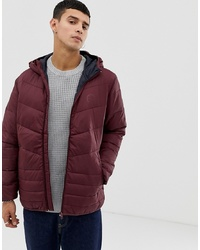 Doudoune bordeaux Jack & Jones