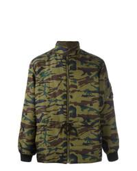 Doudoune camouflage olive Jean Paul Gaultier Vintage