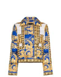 Doudoune jaune Versace