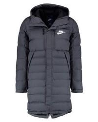Doudoune longue gris foncé Nike