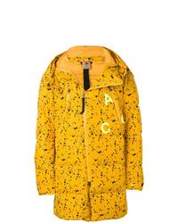 Doudoune longue jaune Nike