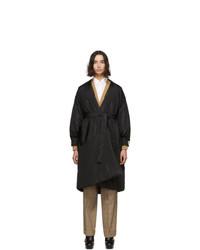 Doudoune longue noire Gucci