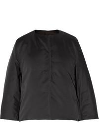 Doudoune longue noire Jil Sander