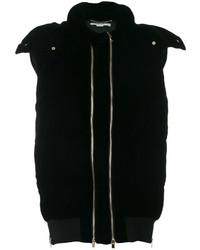 Doudoune longue noire Stella McCartney