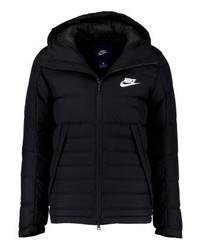 Doudoune noir Nike