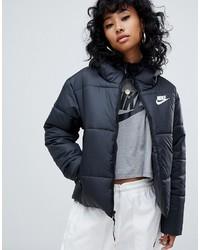 Doudoune noire Nike