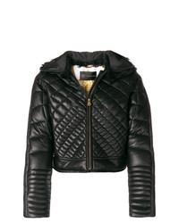 Doudoune noire Versace