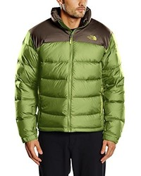 Doudoune olive The North Face