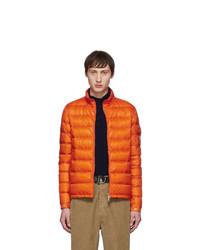 Doudoune orange Moncler