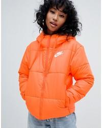 Doudoune orange Nike