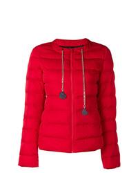 Doudoune rouge Love Moschino