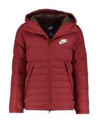 Doudoune rouge Nike
