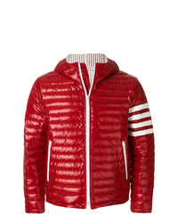 Doudoune rouge Thom Browne