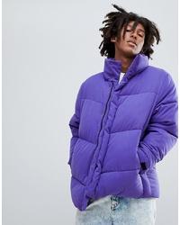 Doudoune violette ASOS DESIGN
