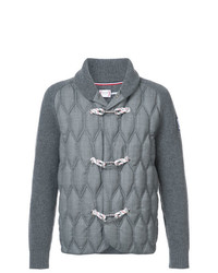 Duffel-cardigan gris Moncler