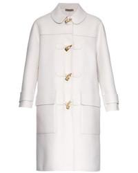 Duffel-coat blanc