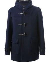 Duffel-coat bleu marine