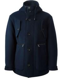 Duffel-coat bleu marine DSQUARED2