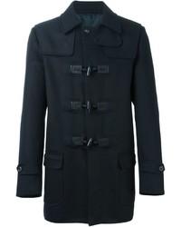 Duffel-coat bleu marine Ermanno Scervino