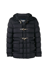 Duffel-coat bleu marine Herno