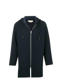 Duffel-coat bleu marine Marni