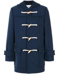 Duffel-coat bleu marine MSGM