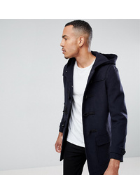 Duffel-coat bleu marine Stanley Adams