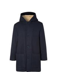 Duffel-coat bleu marine YMC