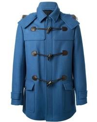 Duffel-coat bleu Salvatore Ferragamo
