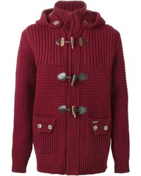 Duffel-coat bordeaux
