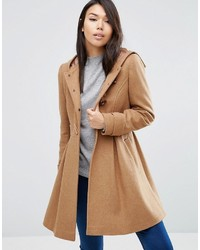 Duffel-coat brun clair Asos