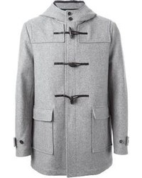 Duffel-coat gris
