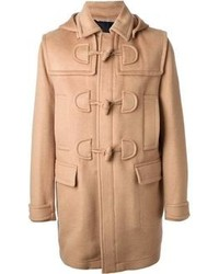 Duffel-coat marron clair