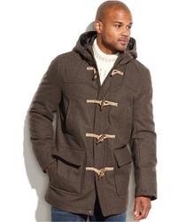 Duffel-coat marron foncé