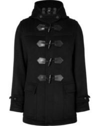 Duffel-coat noir