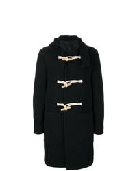 Duffel-coat noir AMI Alexandre Mattiussi