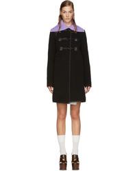 Duffel-coat noir Carven