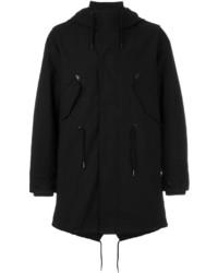 Duffel-coat noir Diesel