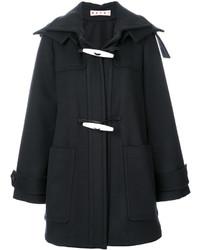 Duffel-coat noir Marni
