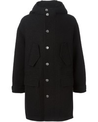 Duffel-coat noir Neil Barrett