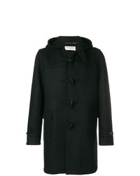 Duffel-coat noir Saint Laurent