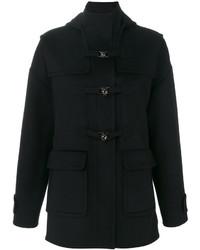 Duffel-coat noir Valentino