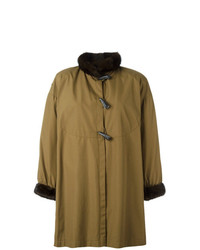 Duffel-coat olive Yves Saint Laurent Vintage