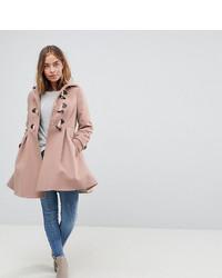 Duffel-coat rose Asos Petite