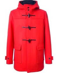 Duffel-coat rouge