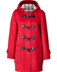 Duffel-coat rouge