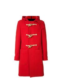 Duffel-coat rouge AMI Alexandre Mattiussi