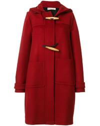 Duffel-coat rouge Marni